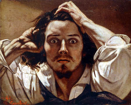 Gustave Courbet - Self portrait