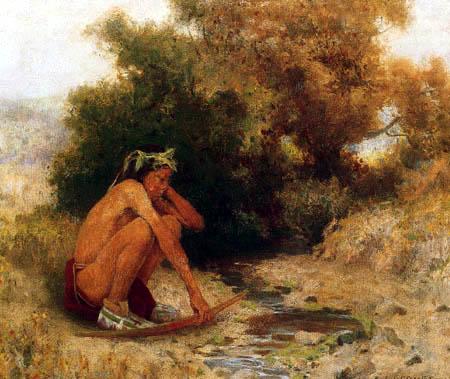 Eanger Irving Couse - Indianerjunge