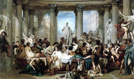 Thomas Couture - The Romans in the time of decline