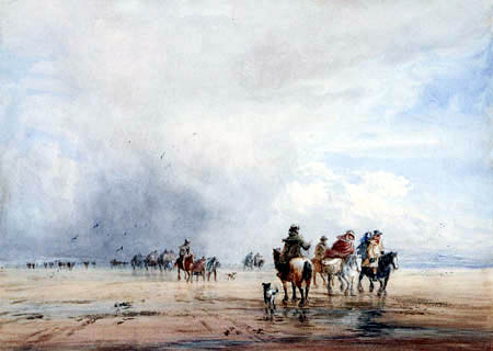David Cox - Crossing Lancaster Sands