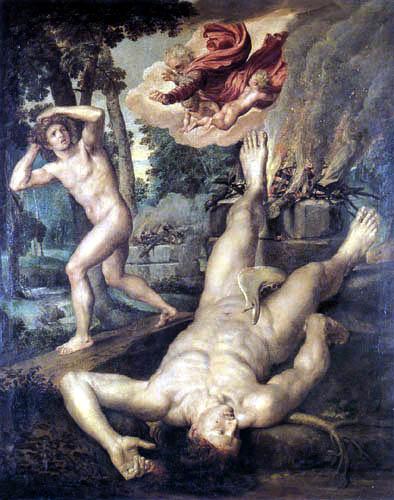 Michiel van Coxië (Coxyen) - The Death of Abel