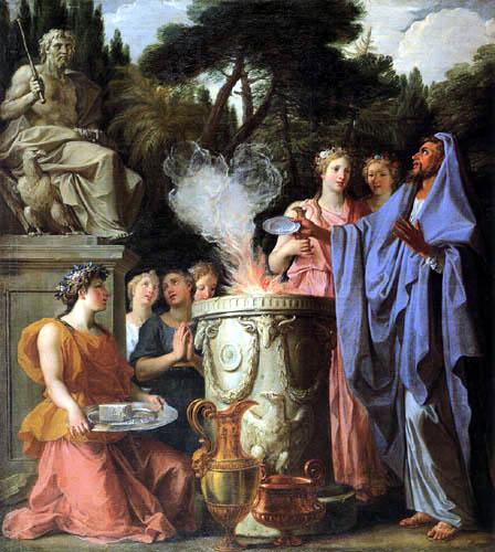 Noël Coypel - The Sacrifice of Jupiter