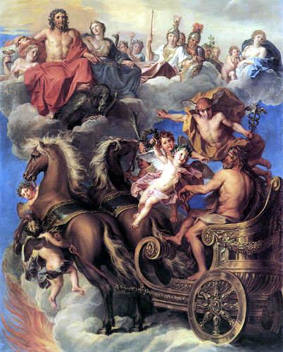 Noël Coypel - Apotheosis of Hercules