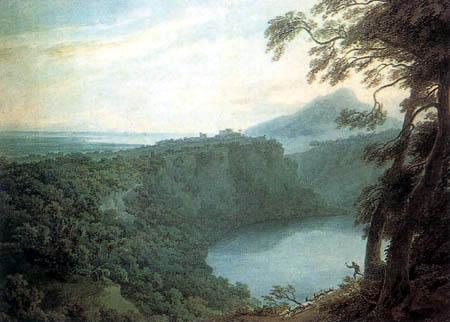 John Robert Cozens - Lake Nemi