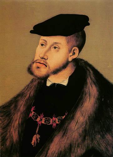 Lucas Cranach the Elder - Karl V.