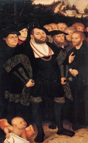 Lucas Cranach der Ältere - Kurfürst Johann Friedrich von Sachsen