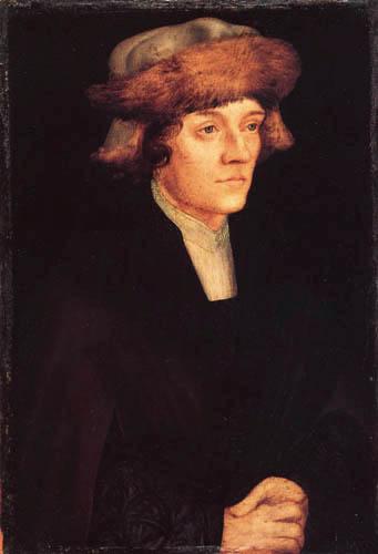 Lucas Cranach the Elder - Portrait of Gerhart Volk