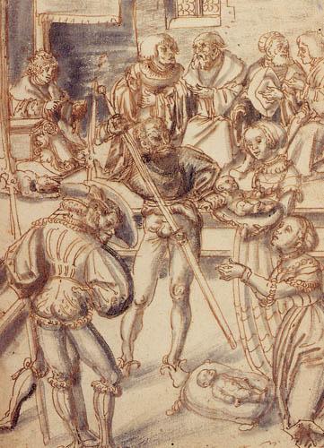 Lucas Cranach the Elder - Judgement of Solomon
