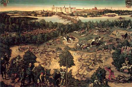 Lucas Cranach the Elder - Deer hunt