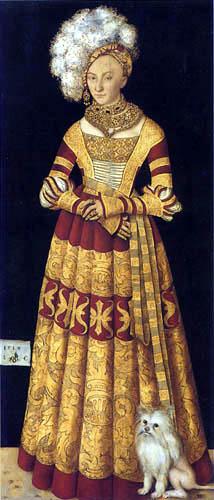 Lucas Cranach der Ältere - Herzogin Katharina von Mecklenburg