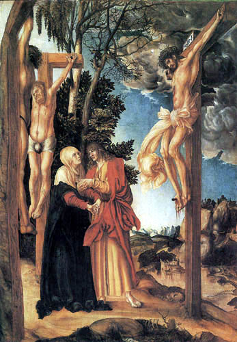 Lucas Cranach the Elder - The Crucifixion