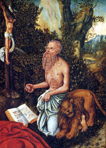 Lucas Cranach the Elder - The Penitent Jeronimo