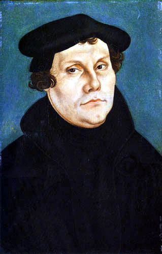 Lucas Cranach the Elder - Martin Luther