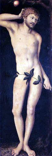 Lucas Cranach the Elder - Adam
