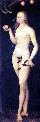 Lucas Cranach der Ältere - Eva