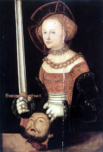 Lucas Cranach the Elder - Judit with de Head of Holofernes