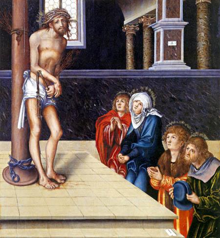 Lucas Cranach der Ältere - Christus an der Geißelsäule