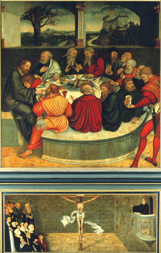 Lucas Cranach the Elder - The Last Supper