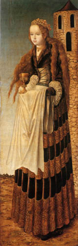Lucas Cranach the Elder - Saint Barbara