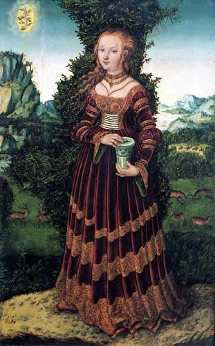 Lucas Cranach the Elder - Mary Magdalene