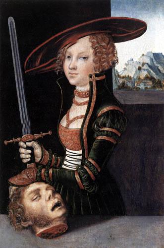 Lucas Cranach der Ältere - Judith mit dem Haupt des Holofernes