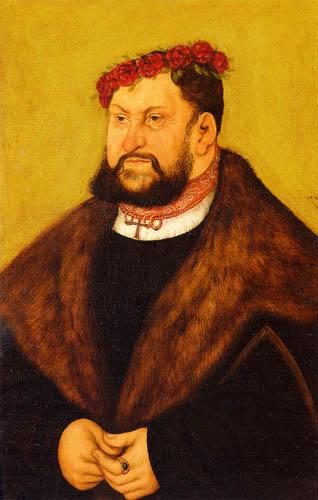 Lucas Cranach der Ältere - Kurfürst Johann der Beständige von Sachsen