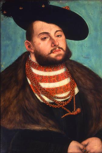 Lucas Cranach der Ältere - Kurfürst Johann von Sachsen