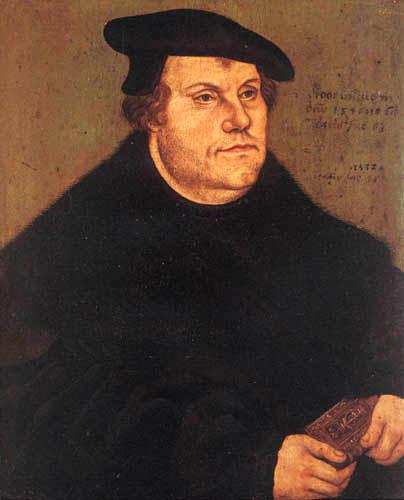 Lucas Cranach der Ältere - Martin Luther