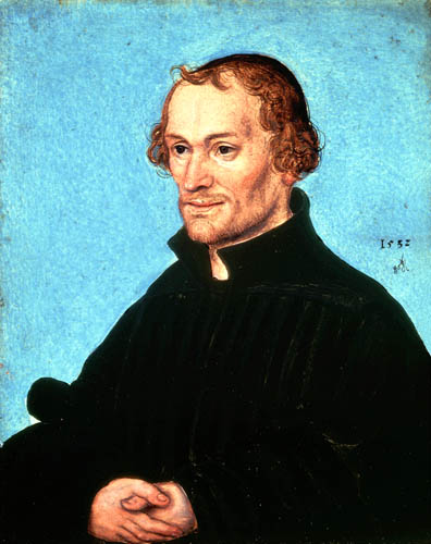 Lucas Cranach the Elder - Portrait of Philipp Melanchthon