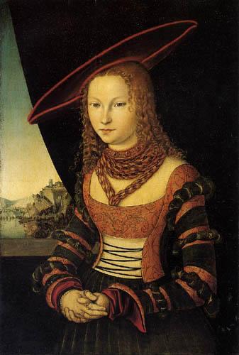 Lucas Cranach the Elder - Portrait of a Woman