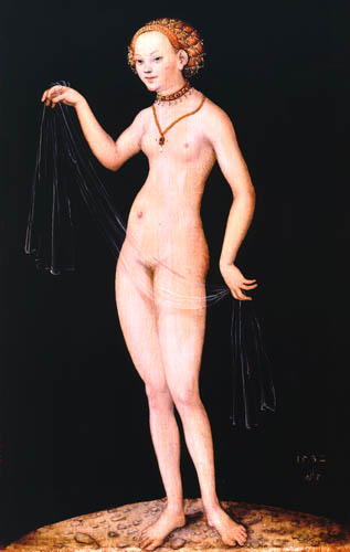 Lucas Cranach der Ältere - Venus