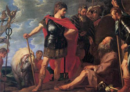 Gaspar de Crayer - Alexander and Diogenes