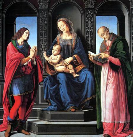 Lorenzo di Credi - Maria mit Kind