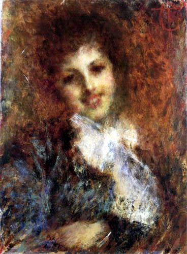 Tranquillo Cremona - Smiling Woman
