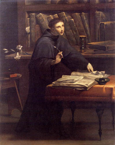 Antonio Maria Crespi Castoldi - St. Anthony in the study