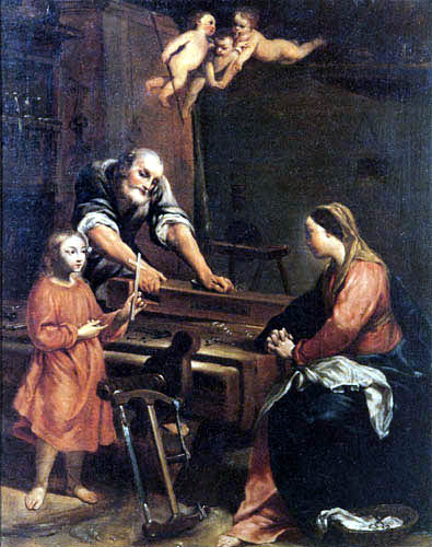 Antonio Maria Crespi Castoldi - The Holy Family