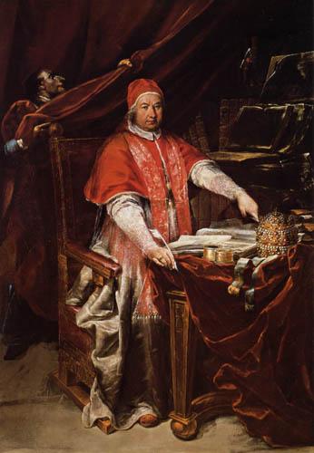 Giuseppe Maria Crespi - Bildnis Benedikt XIV.