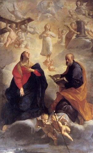 Giuseppe Maria Crespi - The holy family