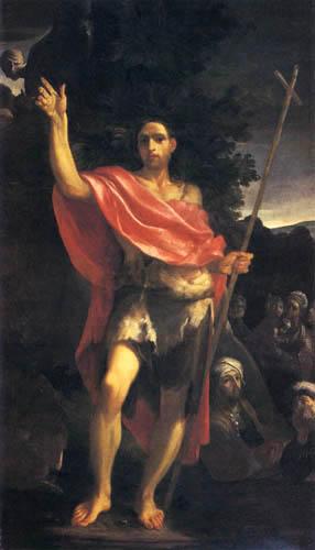 Giuseppe Maria Crespi - Le sermon de Jean le Baptiste