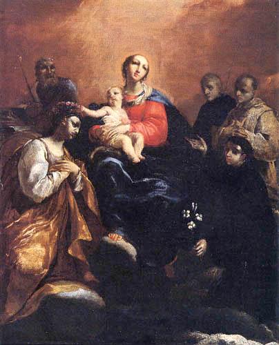 Giuseppe Maria Crespi - Madonna with the Jesus child