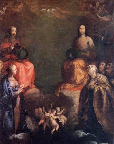 Giuseppe Maria Crespi - The Holy Trinity