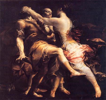 Giuseppe Maria Crespi - Ecuba and Polinestore
