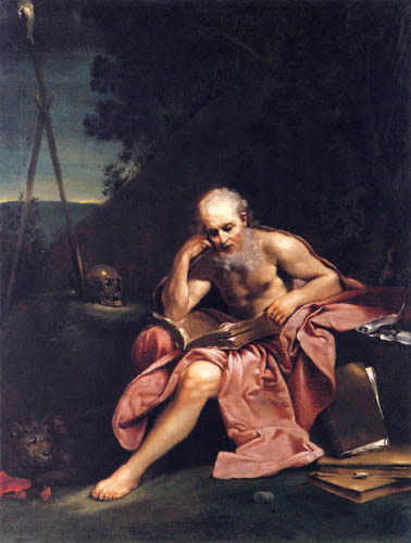 Giuseppe Maria Crespi - Der lesende Gerolamo