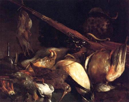 Giuseppe Maria Crespi - Nature morte avec un pistolet