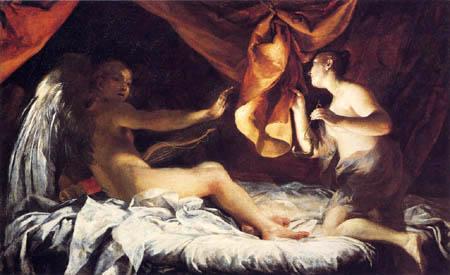 Giuseppe Maria Crespi - Cupido und Psyche