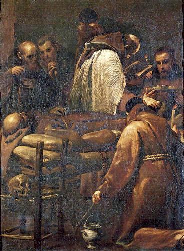Giuseppe Maria Crespi - The Death