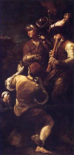 Giuseppe Maria Crespi - Musikanten