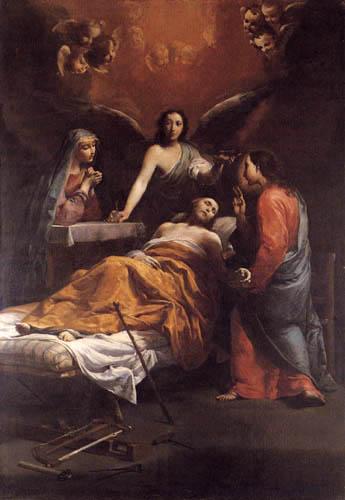 Giuseppe Maria Crespi - Le San Giuseppe mort