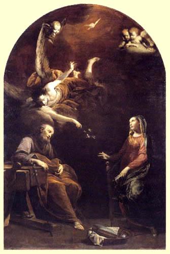 Giuseppe Maria Crespi - Le rêve de St Joseph