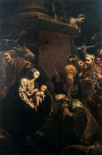 Giuseppe Maria Crespi - L´Adoration des mages